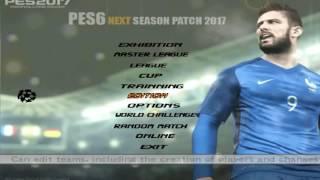 اقوى واحدث باتش PES6 لموسم 2016/2017  باخر الانتقالات والاضافات PES6 Next Season Patch 2017