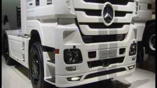 Mercedes Actros Black and White Liner