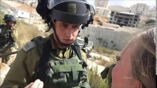 getlinkyoutube.com-Israeli soldier gets told that this is Palestine not Israel.