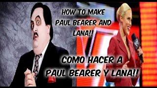WWE 2K15   COMO HACER A PAUL BEARER & LANA EN PS3// HOW TO MAKE PAUL BEARER & LANA ON PS3
