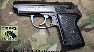 getlinkyoutube.com-P-64 Polish 9x18 Makarov Pistol Review