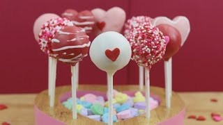 getlinkyoutube.com-How to Make Valentine's Day Cake Pops!