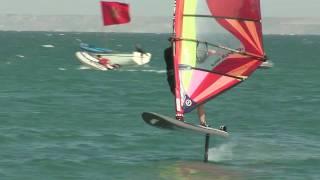 getlinkyoutube.com-Dakhla Festival 2011 - Foil Surfing sur la lagune