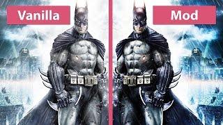 getlinkyoutube.com-Batman: Arkham Knight – PC Mod Arkham Occlusion Graphics Comparison [60fps][FullHD]
