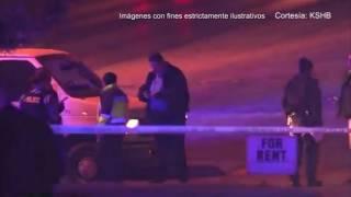 Dos personas resultaron heridas de la bala en Kansas City, Missouri