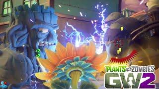 getlinkyoutube.com-Plants vs. Zombies Garden Warfare 2 Boss Battle Grumpy vs Dr. Zomboss