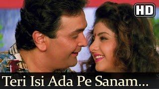 getlinkyoutube.com-Teri Isi Ada Pe Sanam (HD) - Deewana Song - Shahrukh Khan - Rishi Kapoor - Divya Bharti