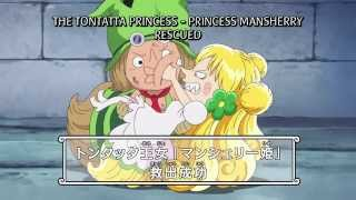 getlinkyoutube.com-One Piece - Leo Saves Princess Mansherry & Defeats Giolla! [HD]