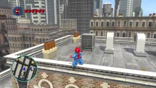 getlinkyoutube.com-LEGO Marvel Heroes- Free roam (Spiderman + Venom)