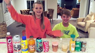 getlinkyoutube.com-Mystery Drink Challenge!  (MattyBRaps vs Carissa Adee)