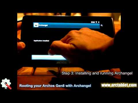 One-click root on Archos 101,70,43,32 and 28 Internet Tablet with Archangel application