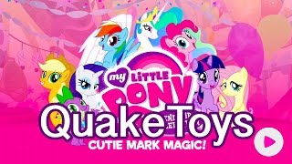 getlinkyoutube.com-My Little Pony Friendship Celebration Cutie Mark Magic App Game Princess Celestia Canterlot Set Scan