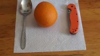 getlinkyoutube.com-Как быстро почистить апельсин
