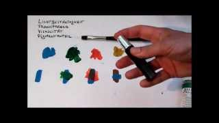 getlinkyoutube.com-Tipps für Anfänger der Acrylmalerei (2): Farben