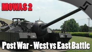 getlinkyoutube.com-Men of War: Assault Squad 2 - Post War - East vs West Tank Battle