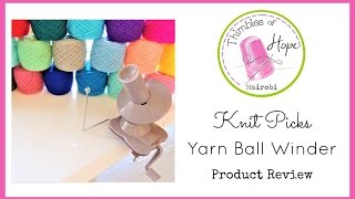getlinkyoutube.com-KNIT PICKS Yarn Ball Winder: Tips, Tricks & Product Review