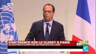 getlinkyoutube.com-REPLAY - Discours de François Hollande en ouverture de la COP21 à Paris