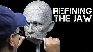 getlinkyoutube.com-Human Head Anatomy & Sculpture: Refining the Jaw - FREE CHAPTER