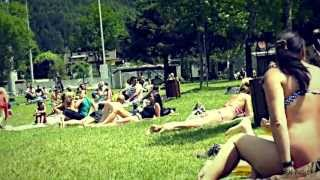 getlinkyoutube.com-Erster Blasmusik-Flashmob SÜDTIROLS