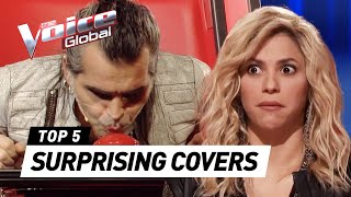 getlinkyoutube.com-The Voice | SURPRISING COVERS in The Blind Auditions [PART 2]