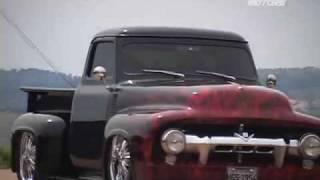 getlinkyoutube.com-Pickup Ford F-100 V8 Custom com Suspensão a Ar