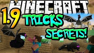 getlinkyoutube.com-Minecraft 1.9 Snapshot: Secrets, Tricks & Tips! (TOP 10)
