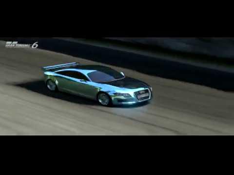 2003 Audi Nuvolari Quattro Trial Mountain Grand Turismo 6 PS3