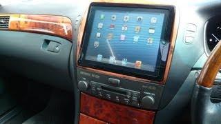 getlinkyoutube.com-iPad  Retinaディスプレイを車に取り付けby PHKOSUGI