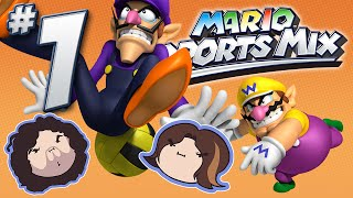 getlinkyoutube.com-Mario Sports Mix: Dodge! - PART 1 - Game Grumps VS