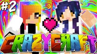 getlinkyoutube.com-My Girlfriend?!? - YouTuber Survival Crazy Craft 3.0 - Ep 2
