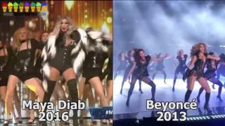 getlinkyoutube.com-Busted: Maya Diab Steals Beyoncé's Choreography