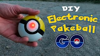 getlinkyoutube.com-DIY Electronic Poke Ball - How To Make an Electronic PokeBall - Pokemon GO!