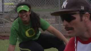 getlinkyoutube.com-Domingo Ayala Visits Oregon Softball