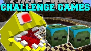 getlinkyoutube.com-Minecraft: PACMAN CHALLENGE GAMES - Lucky Block Mod - Modded Mini-Game