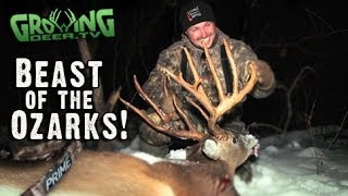 "getlinkyoutube.com-Bow Hunting Whitetails: 181"" Buck Killed In Missouri (#213) @GrowingDeer.tv"