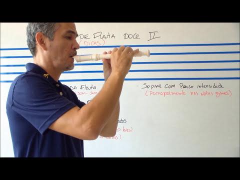 Aula de Flauta Doce  II
