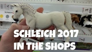 SCHLEICH 2017 HORSES IN THE SHOPS | horzielover