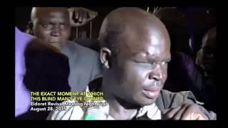 FAMOUS Blind Crippled Beggar Walks & Eye Opens, Eldoret, 2015 Revival, Prophet Dr. Owuor!