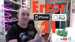 getlinkyoutube.com-Solución ERROR 21 iTunes Facil y rapido!!!!
