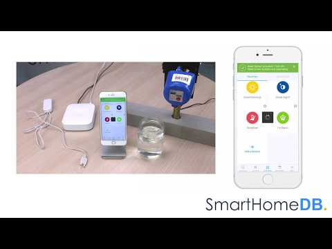HOW-TO: Pair and Connect your Aeotec Water Sensor with an EcoNet Valve Controller via a Samsung SmartThings Hub