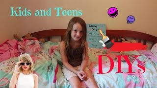 getlinkyoutube.com-Kids and Teens DIY ~ Room Decor