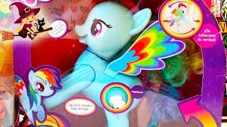 2 Juguetes de My Little Pony   Rainbow Dash Saltarín   Juguetes Interactivos