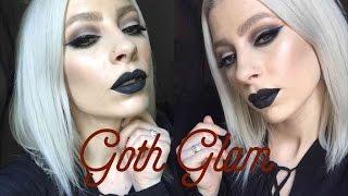 getlinkyoutube.com-GOTH GLAM | Kat Von D Shade & Light Palette + Everlasting Liquid Lipstick