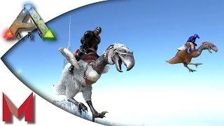 ARK: Survival Evolved - Grappling Hooks & Terror Birds! S3E36 Gameplay!