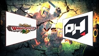 getlinkyoutube.com-CLASH OF CLANS - Comentando Guerras - Wargods BR x Playhard - Parte 1