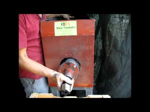 Odun Kömürü Makinası İmalatı Mangal ve Nargile Kömürü Makinası