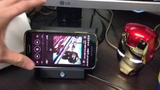 스마트폰 증폭기 휴대용 미니 스피커 NO 블루투스!