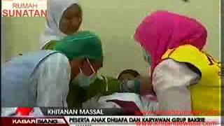 getlinkyoutube.com-Rumah Sunatan mengadakan sunat masal bersama Bakrie (sunat, khitan, sunat klamp, klinik sunat)