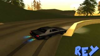 getlinkyoutube.com-GTA Sa: Drift Skills By. ReY