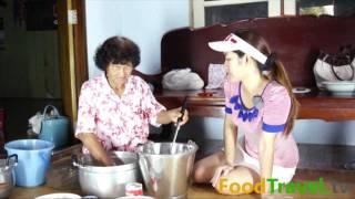 getlinkyoutube.com-ขนมหม้อแกงไข่ แบบโบราณ ป้าอารมณ์